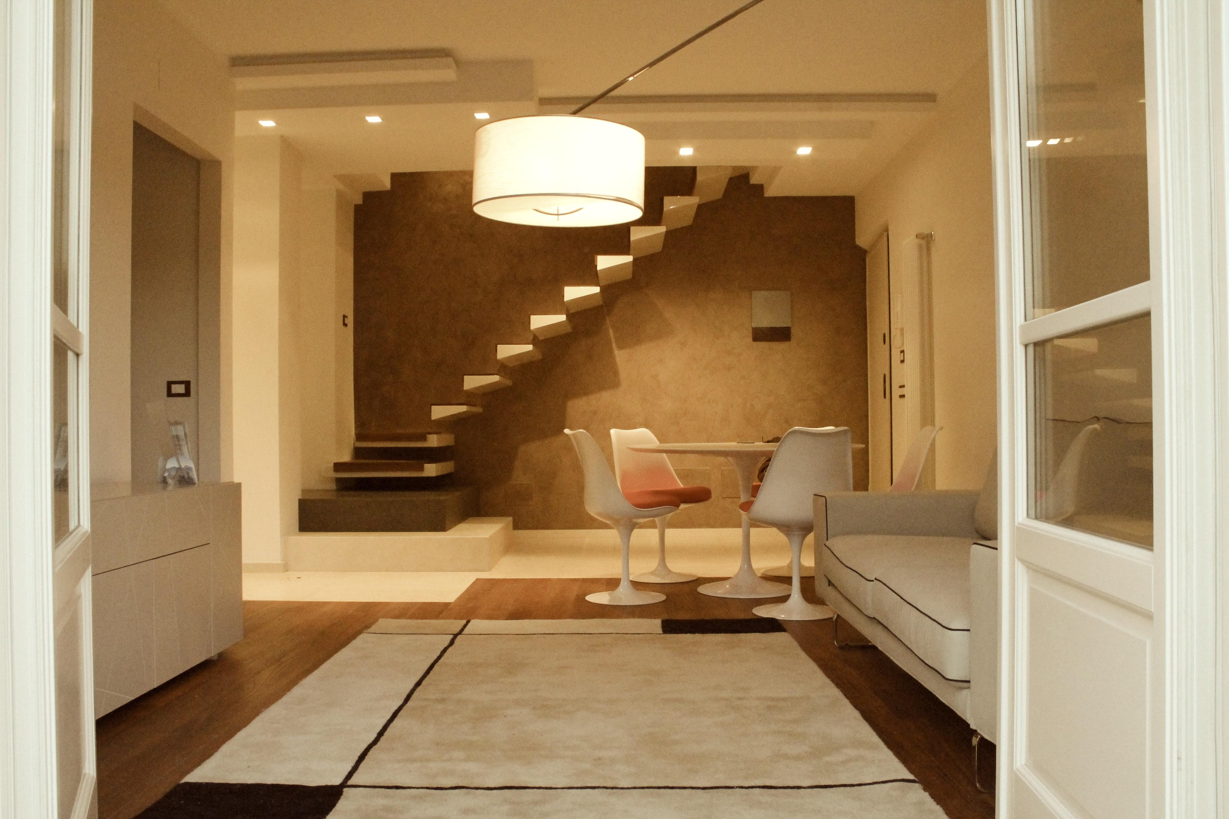 Restyling d 39 interni nuovo appartamento up architettura for Architettura arredamento d interni